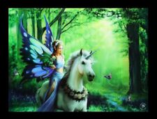 3d Cuadro con unicornio -Realm of encantamiento - Anne Stokes Fantasy Póster