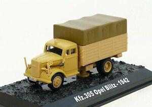 Amercom 1:72 Opel Kfz.305 Blitz Cargo Truck German 21.PzDiv North Africa ACBG19