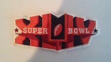 2010 Super Bowl XLIV Official PATCH New Orleans SAINTS win 31-17 Colts