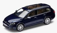 VW GOLF 7 VARIANT 1:43 NIGHT BLUE METALLIC MODELL MODELLAUTO – NEU ORIGINAL VW