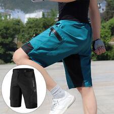 Мужской горный велосипед шорты просторные велосипедные штаны эластичный пояс Повседневные брюки
