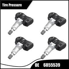 4Pcs NEW OEM 6855539 Tire Pressure TPMS Fits BMW X5 X6 MINI F20 F21 F22 F30