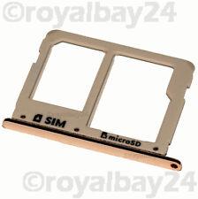 Samsung Galaxy A7 2016 nano SIM-Halter gold holder A710F Tray microSD Tray