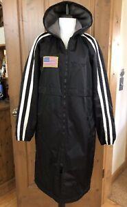 Speedo Team Parka - Long Jacket Coat - Men's XS, Women's M