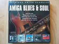 AMIGA BLUES & SOUL 5CD: ORIGINAL AMIGA CLASSICS/NEU/BIEBL KERTH MODERN SOUL BAND