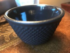 Black Hobnail Dot Japanese Cast Iron Tea Cup NEW Free Shipping