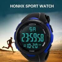 Men's Luxury Analog Digital Military Army Sport LED Waterproof Wrist Watches