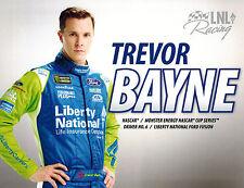 "2017 TREVOR BAYNE #6 LIBERTY NATIONAL""MONSTER ENERGY"" NASCAR POSTCARD! 1ST VERS!"