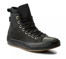 Converse CTAS WP Boot Hi ® Mens Womens Unisex UK 7 EU 40 Nubuck Black Leather