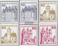 BRD (BR.Deutschland) 913C/D I, 914C/D I, 916C/D I (kompl.Ausgabe) postfrisch 197
