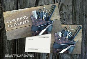 Geschenkgutscheine Gutscheine Friseursalon Friseur Barber beautycard4you