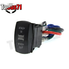 Winch Inout Control Rocker Toggle Switch Fit Jeep Cherokee Jktjcj Off Road Fits More Than One Vehicle