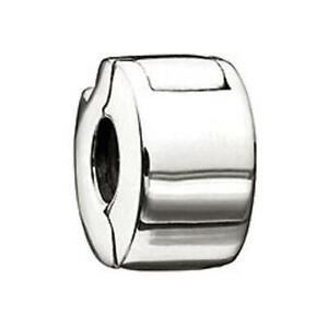 New Chamilia PLAIN Shiny Sterling Silver Freedom LOCK Bead MB-27 $35 Retired