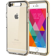 For Apple iPhone 6S/6 Slim Hybrid Clear Crystal TPU Bumper Light Cover Case