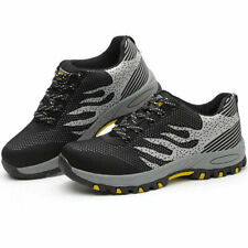 Safety Trainers Boots Shoes Steel Toe Cap Indestructible Men Women Sneakers Mesh