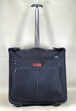 "Victorinox Werks Traveler Black 21"" Deluxe Wheeled Garment Bag Rolling Lugagge"