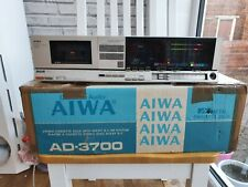 Aiwa AD-3700 3-head casette deck.  Serviced and upgraded