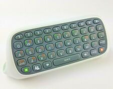 Xbox 360 Chatpad Qwerty Keyboard Text Keypad Controller Attachment White Genuine