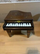 Working ~ Vintage ~ Childrens ~ Toy ~ Wooden ~ Baby Grand ~ Orchestra ~ Piano