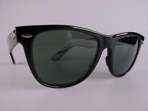 Vintage B&L Ray Ban USA Wayfarer II Sunglasses Size Medium/Large BL Lenses