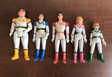 VOLTRON LION PILOTS - VINTAGE 1984 PANOSH PLACE ACTION FIGURE LOT of 5
