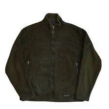 REI Men's Fleece Jacket Zip-in Size Large Dark Green