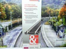 Piko 55203 - H0 - A-Gleis - 6 Stück gerade Gleise 115mm - G115 - Neu/OVP-#8552