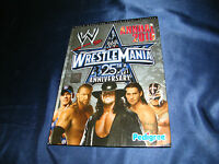 WRESTLING WWE WRESTLEMANIA 25 ANNIVERSARYBUCH DIN A4 VIELE FOTOS 2010 UNDERTAKER