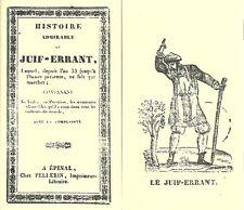 Histoire admirable du JUIF ERRANT + COMPLAINTE