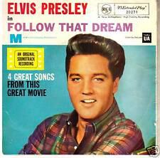 Follow That Dream-1962-Elvis Presley-Original Movie Soundtrack-Record- EP