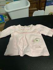 Carters Just One Year Newborn Baby Girl Long Sleeve Shirt