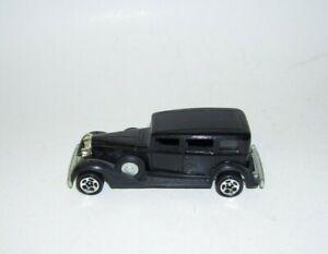1982 Hot Wheels Antique Classic Black Packard Car