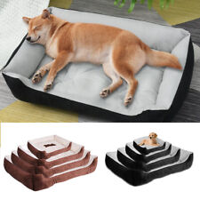 More details for acornpets® b2 m/l/xl extra large size soft dog bed cat puppy basket mat cushion