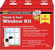"NEW! M-D BUILDING PRODUCTS Window Film Insulator Kit 42"" x 62""  04184"