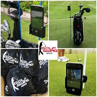 Golf Swing Mentor Recording Aid - Phone Holder - Alignment Stick Bag Clip New