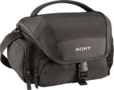 NEW Sony LCSU21 Soft Carrying Case for Cyber-Shot and Alpha NEX Cameras Black