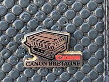 pins pin BADGE PRESSE PHOTO CANON  BRETAGNE