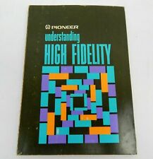 Pioneer Understanding High Fidelity Stereo Booklet 1975 Japan Components