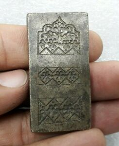 Antique Old Bronze Metal Goldsmith Jewelry Making Stamp Seal Tool Mold ARA 005