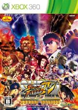 USED Xbox 360 Super Street Fighter IV Arcade Edition 38508 JAPAN IMPORT