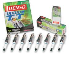 8 pc Denso Iridium TT Spark Plugs for Chevrolet C1500 7.4L 5.7L 5.0L V8 ud