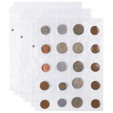 Vinyl Coin Flips 20-Pocket Sheets | 20 Three-Ringed Sheets