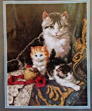 Dimensions Gold Collection Captivating Felines Counted Cross Stitch Kit