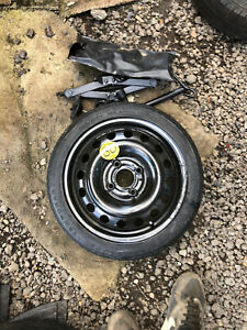 NISSAN MICRA SPACE SAVER SPARE WHEEL & TYRE T105/70R14 JACK AND WHEEL BRACE