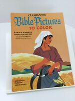 Classroom Bible Pictures Old Testament Joshua - Daniel Vintage Coloring Book 013