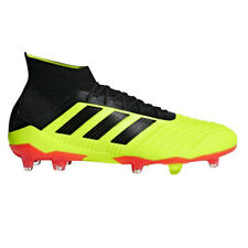 adidas Predator 18.1 Youth FG Soccer Cleats Yellow Black Red Size 5 Y