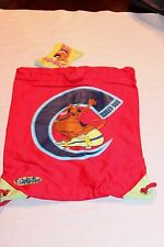 "NEW WITH TAGS  RED SCOOBY DOO 11"" X 16""   SLING BAG"