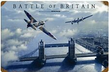 More details for battle of britain london metal sign  440mm x 290mm (pst)