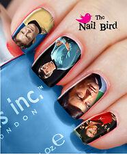Nail Art Nail Decals Nail Transfers Nail Wraps Natural/Acrylic STAR TREK
