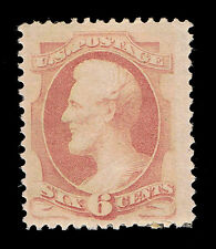 SCARCE STUNNING GENUINE SCOTT #186 F/VF MINT OG HR SCV $900 - PRICED TO SELL